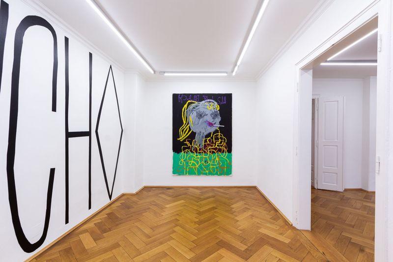 und das ist erst der Anfang / and this is just the beginning by Boban Andjelkovic, Galerie Britta von Rettberg