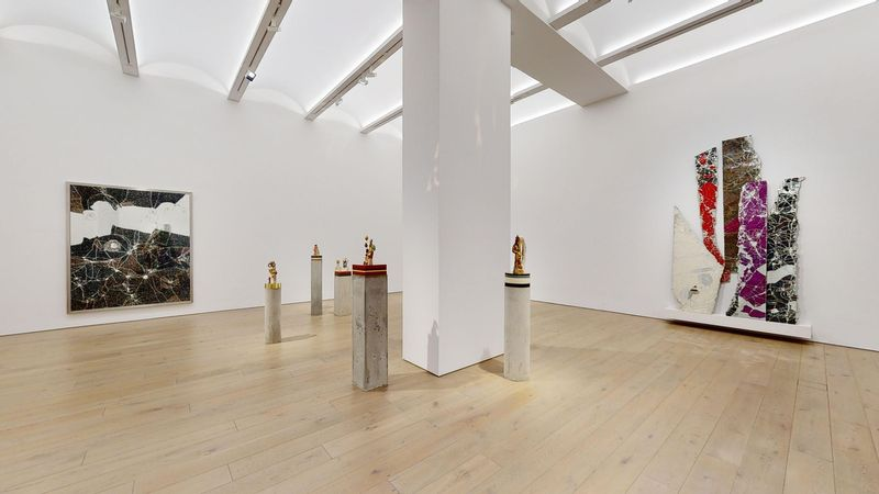 The Unexpected Freedom of Chaos by Bharti Kher, Perrotin   New York (3 of 4)