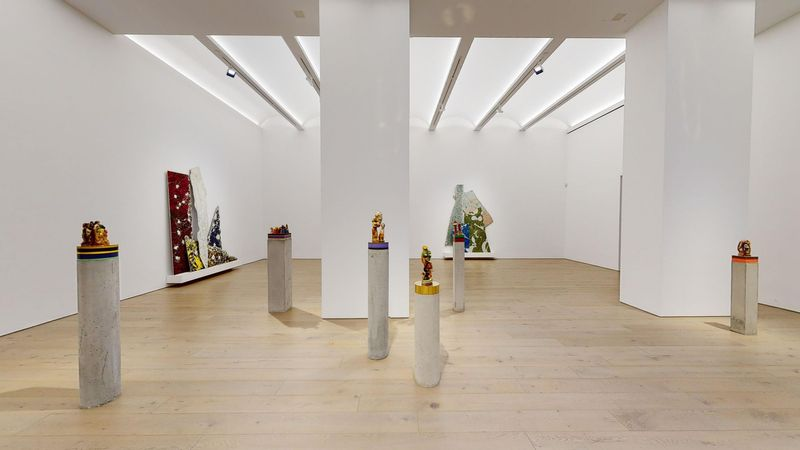 The Unexpected Freedom of Chaos by Bharti Kher, Perrotin   New York (2 of 4)