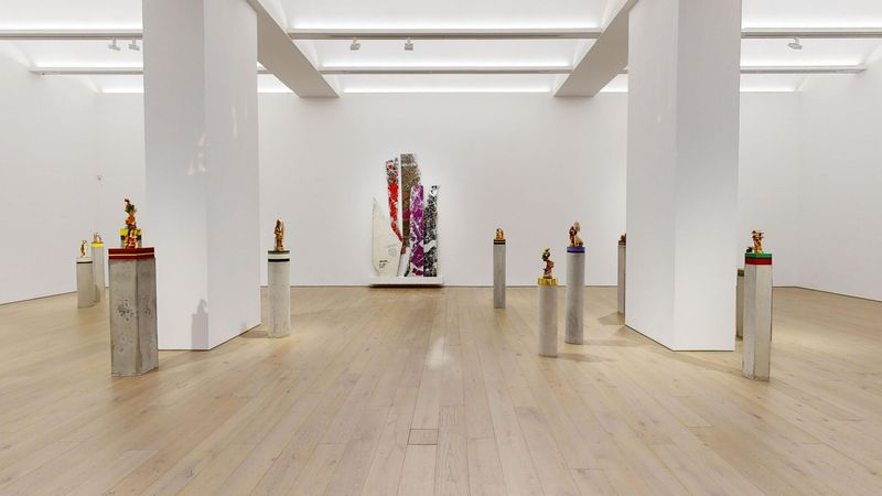 The Unexpected Freedom of Chaos by Bharti Kher, Perrotin   New York (4 of 4)